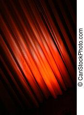 gordijn, abstract, diagonaal, achtergrond, rood