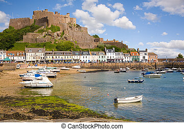 Gorey and Mont Orgueil Castle in Jersey - Gorey and Mont...