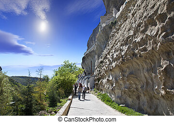 Gorge Mariam-Dere - Huge longest gorge in the mountains of...