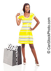 african woman with money to spend - gorgeous african woman...