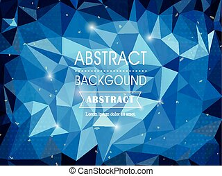gorgeous background template design with polygon elements