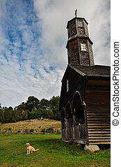 Gorgeous Colored and Wooden Churches, Chiloé Island, Chile