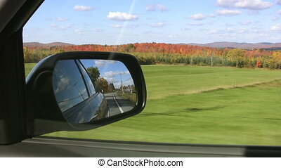 Gorgeous fall drive. - Driving on a perfect autumn day....