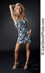 Gorgeous feminine model
