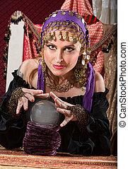 Gorgeous Fortune Teller - Gorgeous European female ...