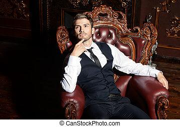 gorgeous macho man