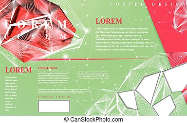 gorgeous poster template design