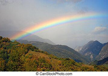 rainbow - gorgeous rainbow after a heavy rain