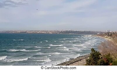 Gorgeous rich and high class neighborhood belonging to the greater Istanbul, Turkey. It is located along Marmara Sea and it is one of the main tourist highlight.