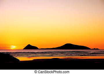 Wilsons Prom - Gorgeous Sunset at Wilsons Promontory in...