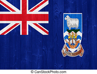 The Falkland Islands flag