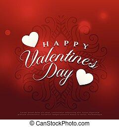 gorgeous valentine's day background design