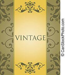 Gorgeous vintage template