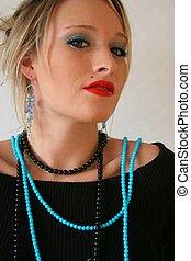 Gorgeous woman - Beautiful blond woman