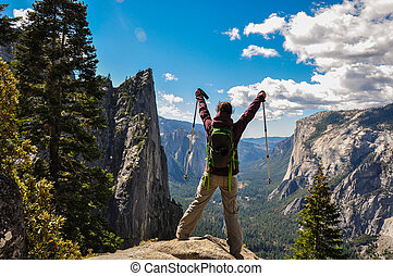 Gorgeous Yosemite National Park, California, USA.