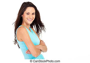 gorgeous young woman portrait