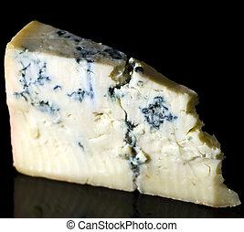 Gorgonzola cheese - Piece gorgonzola cheese isolated on ...