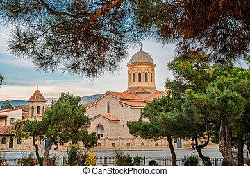 Gori, Shida Kartli Region, Georgia, Eurasia. Cathedral Of ...
