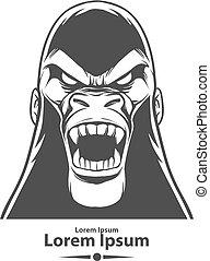 gorilla logo danger