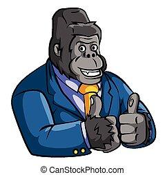 gorilla, zakelijk