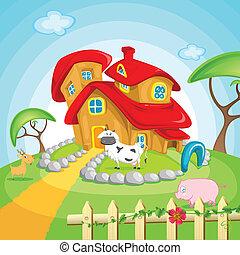 gospodarczy dom
