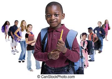 gosses école, diversité