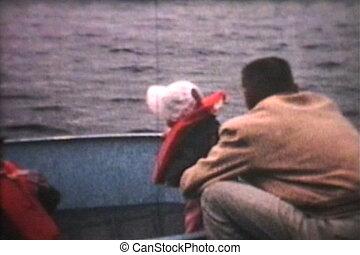 gosses, (1966), bateau, séance