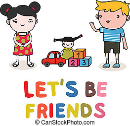 gosses, amitié