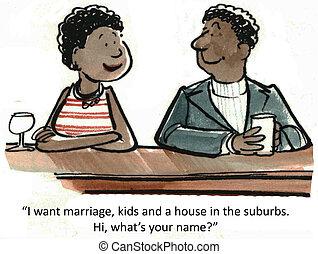 gosses, mariage