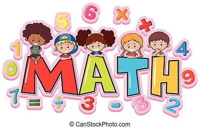 gosses, mot, conception, police, math, heureux