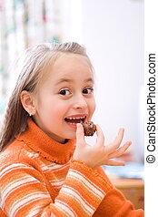 gostosa, chocolate