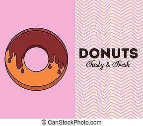 gostosa, donuts, desenho