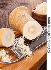 gostosa, horseradish, raiz