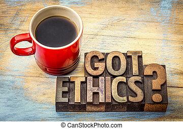 Got ethics question in letterpress wood type