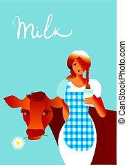 Got milk.
