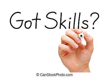 Got Skills Handwriting - Hand writing Got Skills? question...