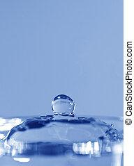 gota agua