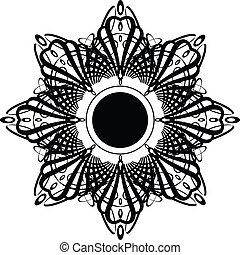 goth crown star