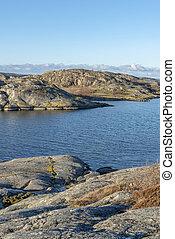 Gothenburg archipelago in winter