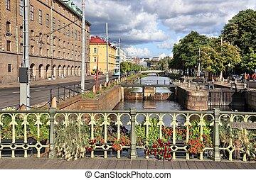 Gothenburg lock