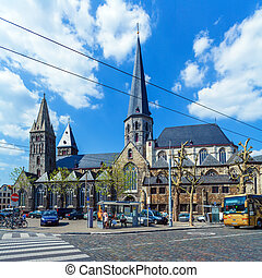 Gothic Cathedral, Ghent, Belgium
