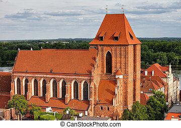 Gothic Cathedral in Torun