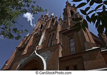 gothic, church.