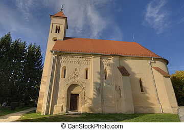 Gothic church in Hungary - Hungarian gothic temple