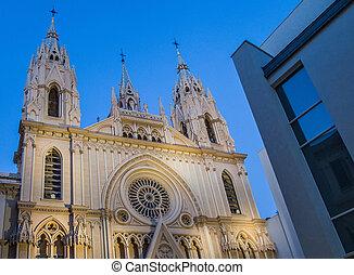 Gothic Church, Malaga, Spain