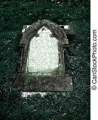 Gothic Grave stone with clear space for your own text