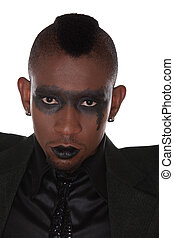 gothic look african