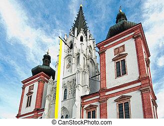 Gothic Pilgrimage Church Mariazell in Lower Austria