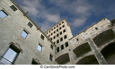 Gothic Quarter of Barcelona - Buildings in the Gothic...