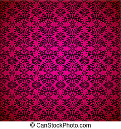 gothic seamless pink wallpaper - Pink seamless wallpaper ...